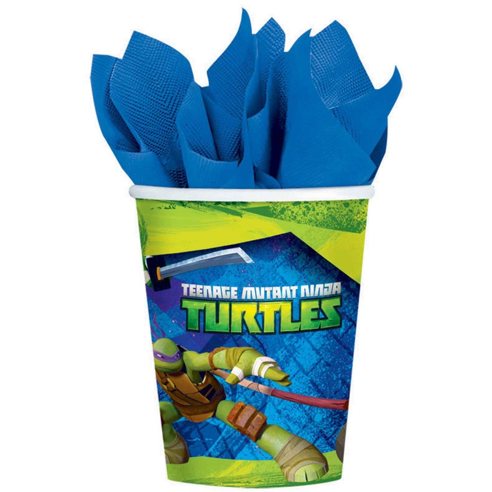 Ninja Turtles Cups - 8 Pack
