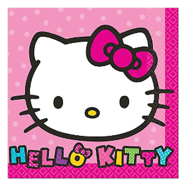 Hello Kitty Rainbow Napkins