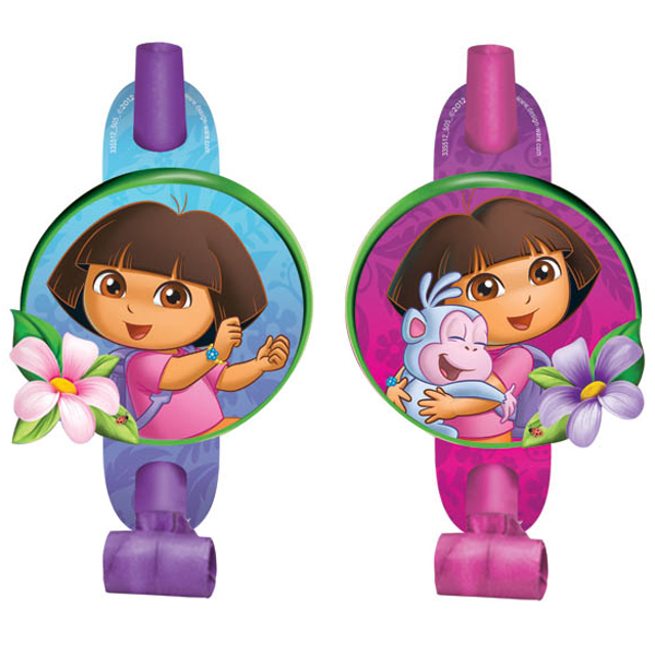 Dora the Explorer Blowouts - 8 Pack