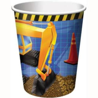 Under Construction Cups 8pk
