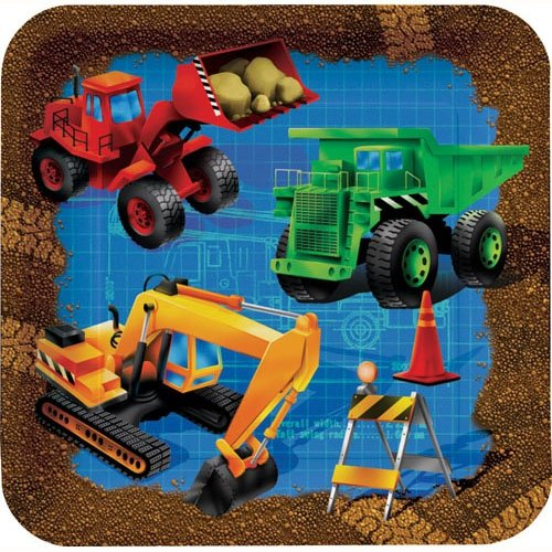 Construction Vehicle Children's Party Supplies