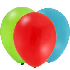 First Boy Coordinating Balloons - 12 Pack
