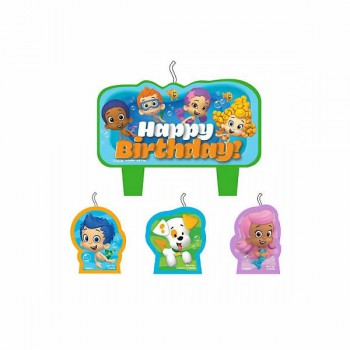 Bubble Guppies Birthday Candles