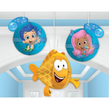 Bubble Guppies Honeycomb Hanging Decorations