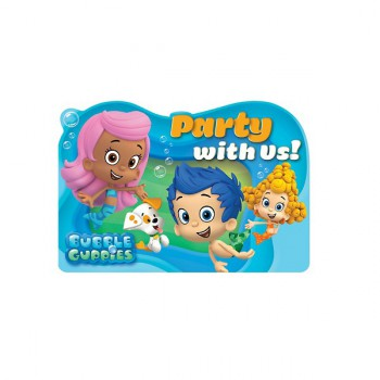 Bubble Guppies Invites