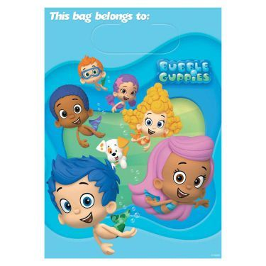 Bubble Guppies Loot Bags