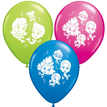 Bubble Guppies Balloons - 25 pack