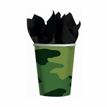 Camouflage Party Cups