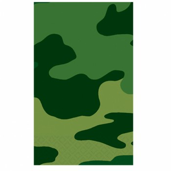 Camoflage Paper Table Cover