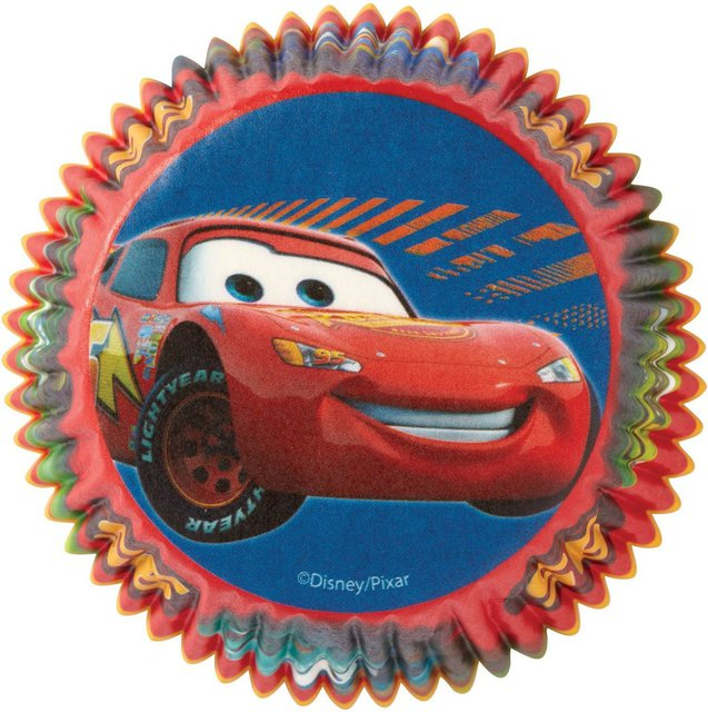 Disney Cars Cupcake Cases - 50 Pack