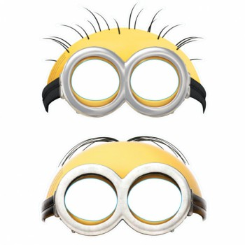 Minion Party Masks