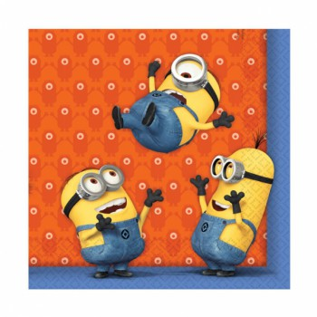 Minions Lunch Napkins - 20 Pack