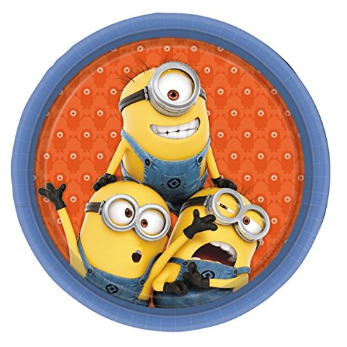 Minions Dinner Plate - 8 Pack