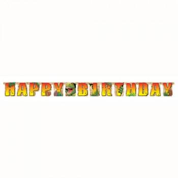 Dino Blast Jumbo Birthday Banner