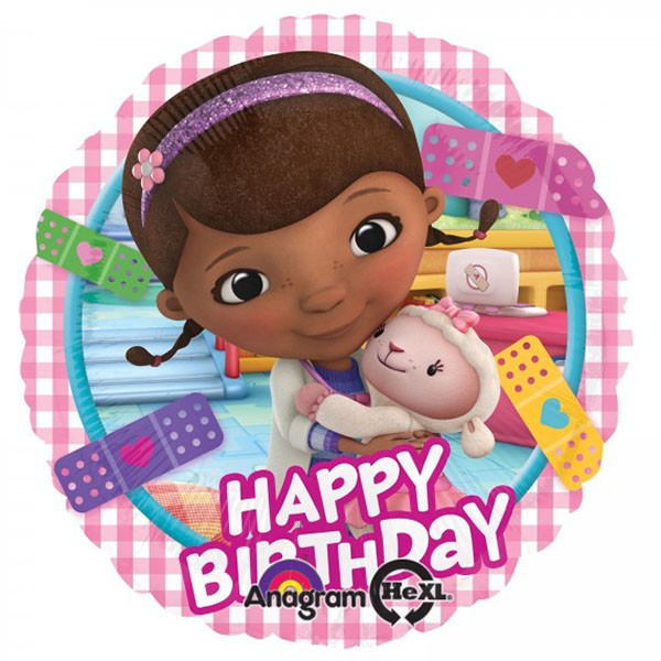 Doc McStuffins Happy Birthday Foil Balloon