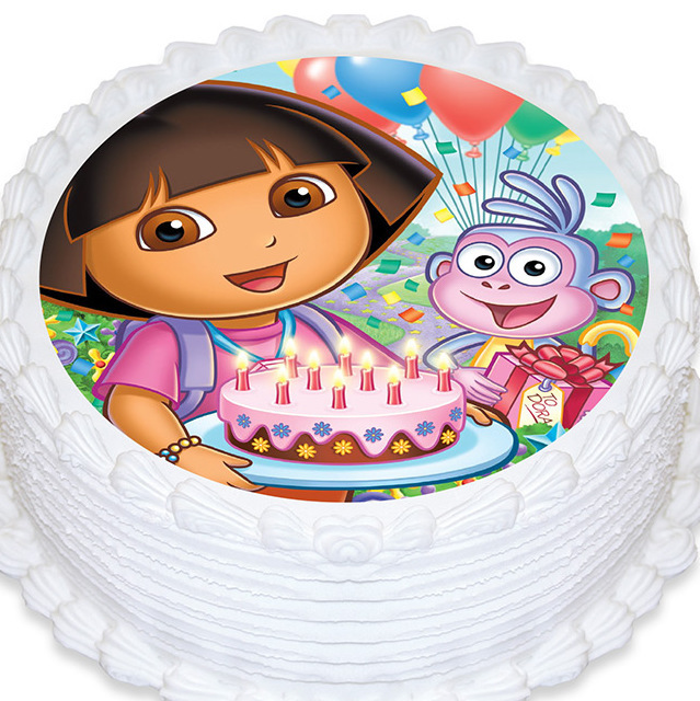 Dora Explorer Cake Topper Lilybees Party Supplies