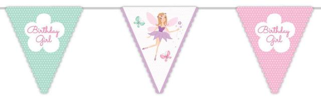 Fairy Garden Birthday Bunting