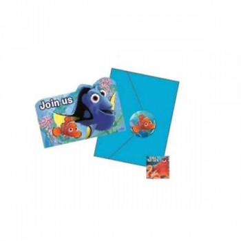 Finding Dory Party Invites