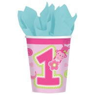 Fun to be One Cups - Pink - 8 Pack