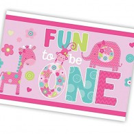 Fun to be One Tablecover - Pink