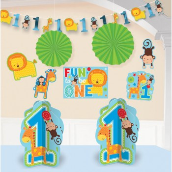 Fun to Be One Room Decor Kit - Blue