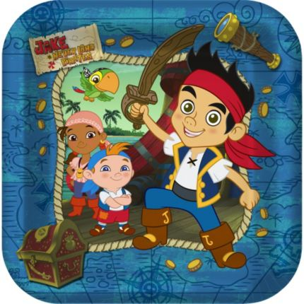 Jake & the Never Land Pirates Dinner Plates