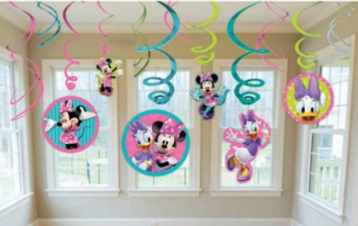 Minnie Hanging Swirls
