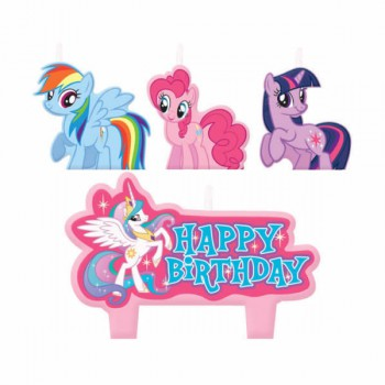 My Little Pony Birthday Cake Candles