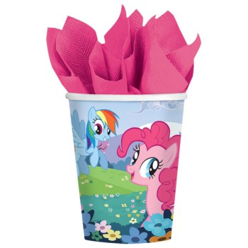 My Little Pony Cups - 8 Pack
