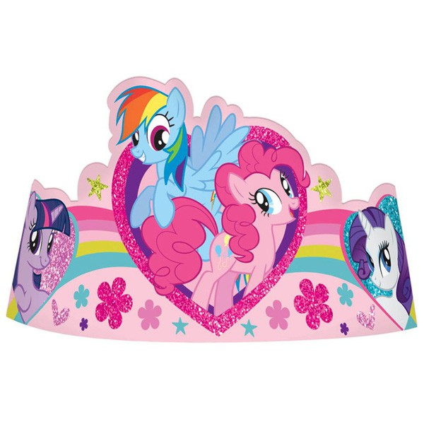 My Little Pony Glittered Tiaras