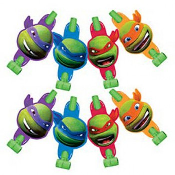 Ninja Turtles Blowouts  - 8 Pack