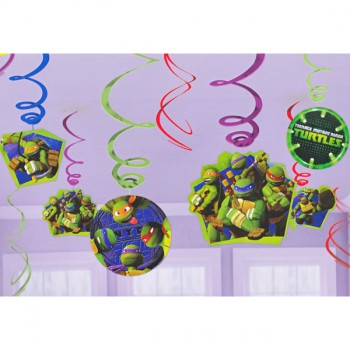 Ninja Turtle Hanging Decorations