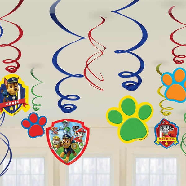 Paw Patrol Hanging Decorations