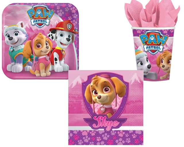 Paw Patrol Mini Party Pack - Pink