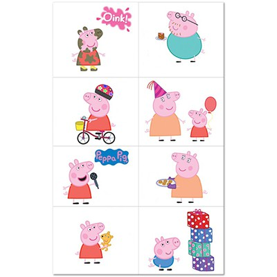 Peppa Pig Tattoos - 8 Tattoos