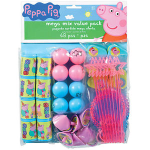 Peppa Pig Mega Favour Pack