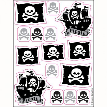 Pirate Sticker Sheets