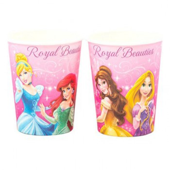 Disney Princess Cups - 8 Pack