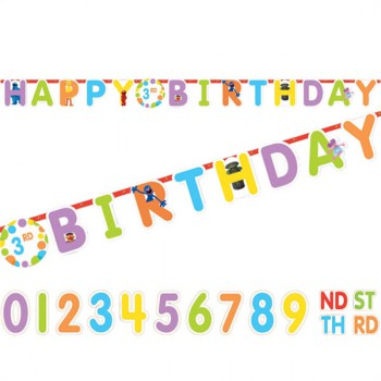 Sesame Street - Add an Age Birthday Banner