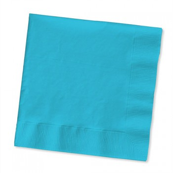 Beverage Napkin - Bermuda Blue - 20 Pack