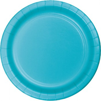 Party Plates - Bermuda Blue - 8 Pack