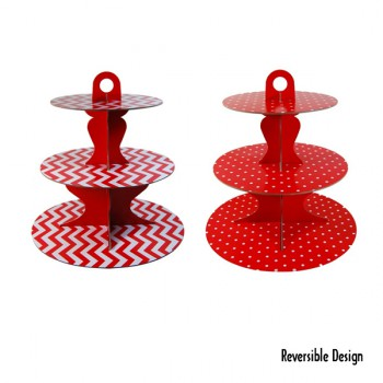 Cupcake Stand - Red