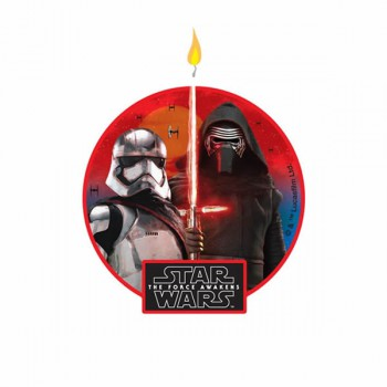 Star Wars Birthday Cake Candle