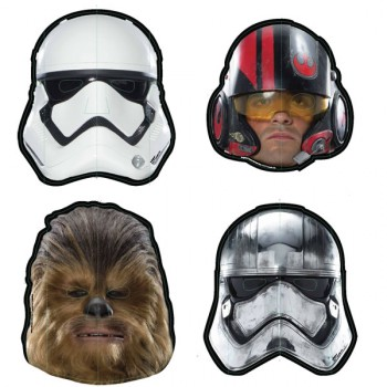Star Wars Episode VII Party Masks
