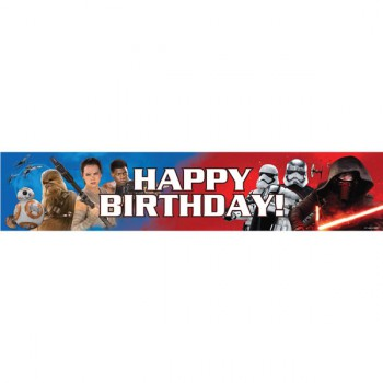 Star Wars Ep 7 Birthday Banner