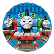 Thomas the Tank Engine Cake Plates