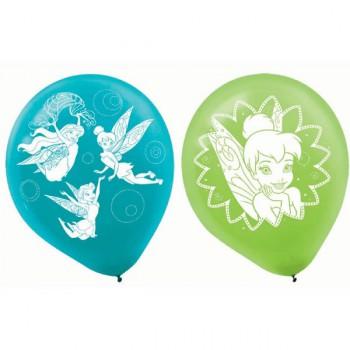 Tinker Bell Latex Balloons