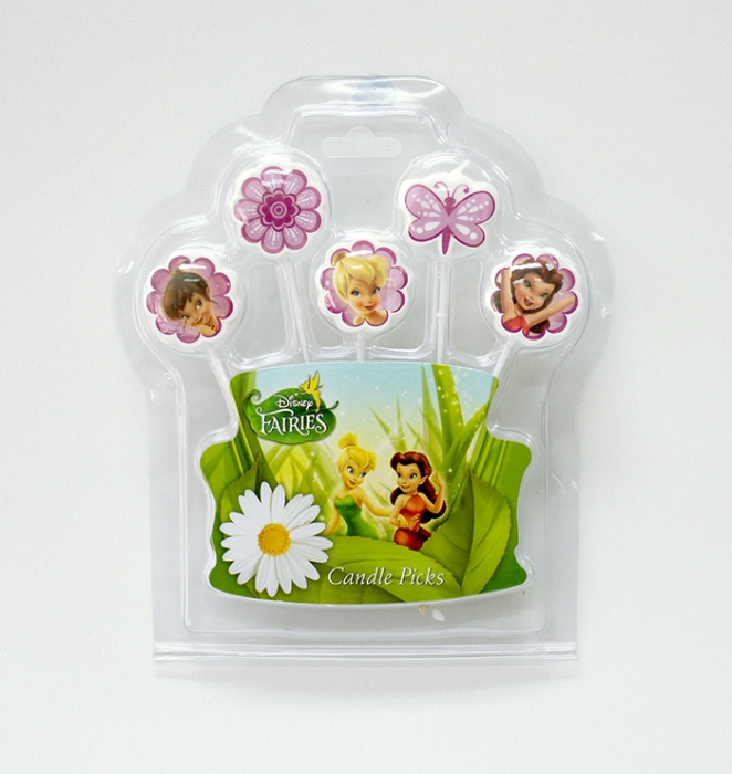 Tinkerbell Pick Candles
