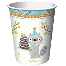 Happi Woodland Cups - Blue