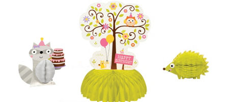 Happi Woodland Centerpiece - Pink